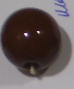 Bola metacrilato 14mm marron oscuro (2.0mm)