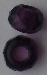 Facetada 12*8mm (aguj 4mm) amatista