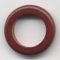 Anilla 6*30mm marron oscuro
